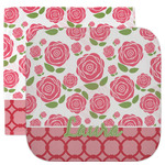 Roses Facecloth / Wash Cloth (Personalized)