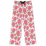 Roses Womens Pajama Pants (Personalized)