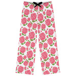 Roses Womens Pajama Pants (Personalized)