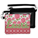 Roses Wristlet ID Case w/ Name or Text