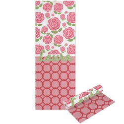 Roses Yoga Mat - Printed Front and Back (Personalized)