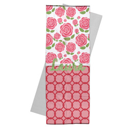 Roses Yoga Mat Towel (Personalized)