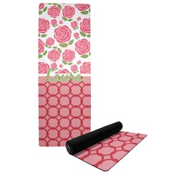 Roses Yoga Mat (Personalized)