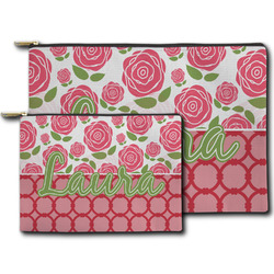 Roses Zipper Pouch (Personalized)