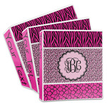 Triple Animal Print 3-Ring Binder (Personalized)