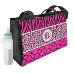 Triple Animal Print Diaper Bag (Personalized)