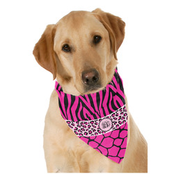 Triple Animal Print Pet Bandanas (Personalized)
