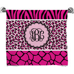 Triple Animal Print Bath Towel (Personalized)