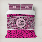 Triple Animal Print Duvet Covers (Personalized)