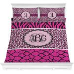 Triple Animal Print Comforter Set (Personalized)