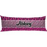 Triple Animal Print Body Pillow Case (Personalized)