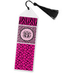 Triple Animal Print Book Mark w/Tassel (Personalized)