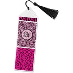 Triple Animal Print Book Mark w/Tassle (Personalized)