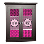 Triple Animal Print Cabinet Decal - Custom Size (Personalized)