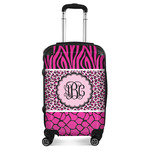 Triple Animal Print Suitcase (Personalized)