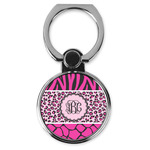 Triple Animal Print Cell Phone Ring Stand & Holder (Personalized)