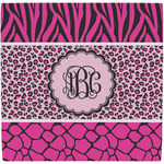 Triple Animal Print Ceramic Tile Hot Pad (Personalized)