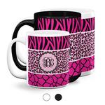 Triple Animal Print Coffee Mugs (Personalized)