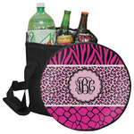 Triple Animal Print Collapsible Cooler & Seat (Personalized)