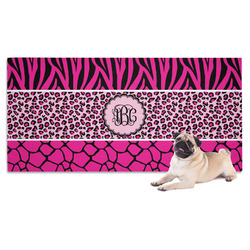 Triple Animal Print Pet Towel (Personalized)
