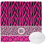 Triple Animal Print Wash Cloth (Personalized)