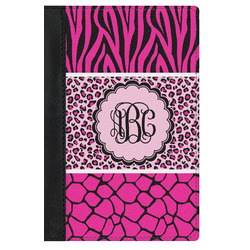 Triple Animal Print Genuine Leather Passport Cover (Personalized)