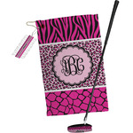 Triple Animal Print Golf Towel Gift Set (Personalized)