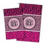 Triple Animal Print Golf Towel - Full Print w/ Monogram