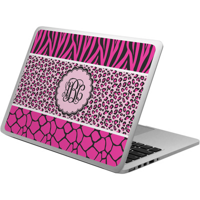 Triple Animal Print Laptop Skin - Custom Sized (Personalized)