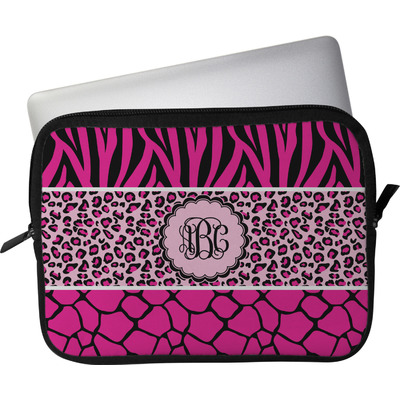 Triple Animal Print Laptop Sleeve / Case - 13.75