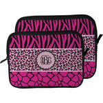 Triple Animal Print Laptop Sleeve / Case (Personalized)