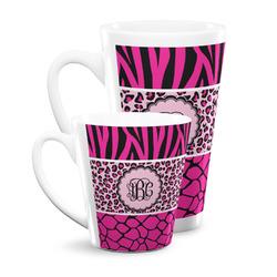 Triple Animal Print Latte Mug (Personalized)