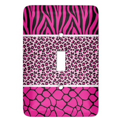 Triple Animal Print Light Switch Covers - Multiple Toggle Options Available (Personalized)