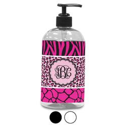 Triple Animal Print Plastic Soap / Lotion Dispenser (Personalized)