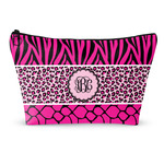 Triple Animal Print Makeup Bags (Personalized)