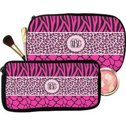 Triple Animal Print Makeup / Cosmetic Bag (Personalized)