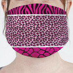 Triple Animal Print Face Mask Cover (Personalized)