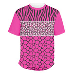 Triple Animal Print Men's Crew T-Shirt (Personalized)