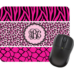 Triple Animal Print Mouse Pad (Personalized)