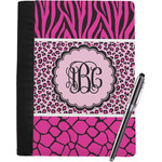 Triple Animal Print Notebook Padfolio (Personalized)