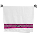 Triple Animal Print Bath Towel (Personalized)