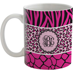 Triple Animal Print Coffee Mug (Personalized)