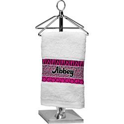 Triple Animal Print Finger Tip Towel (Personalized)