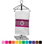 Triple Animal Print Finger Tip Towel (Personalized)