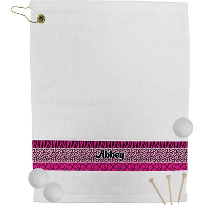 Triple Animal Print Golf Bag Towel (Personalized)