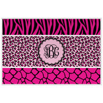 Triple Animal Print Placemat (Laminated) (Personalized)