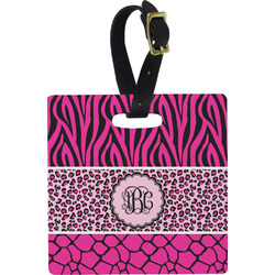 Triple Animal Print Luggage Tags (Personalized)