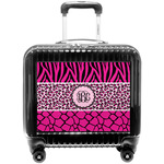 Triple Animal Print Pilot / Flight Suitcase (Personalized)