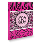 Triple Animal Print Softbound Notebook (Personalized)
