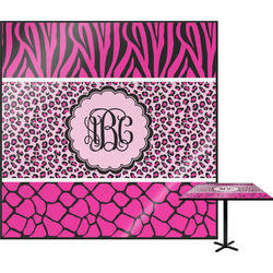 Triple Animal Print Square Table Top (Personalized)
